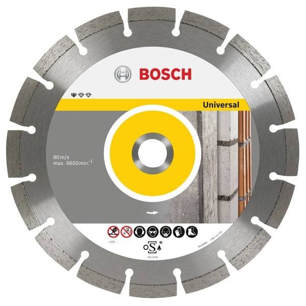 Bosch 2608602191 Pro Universal Diamond Blade 115mm x 22mm Bore