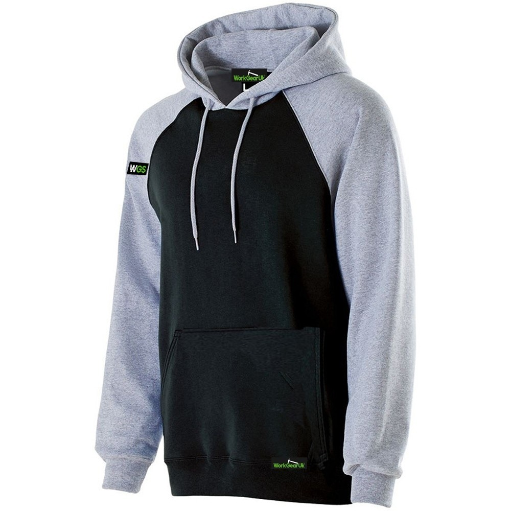 WorkGearUk Hooded Sweat Shirt Fleece Designed for Comfort WG-HD02