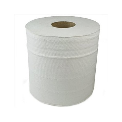 White Paper Centre Feed Rolls 2 Ply X 1 Single Roll 190mm x 190mm x 150 meters