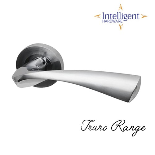 Truro Door handles Dual Finish PCP/SCP