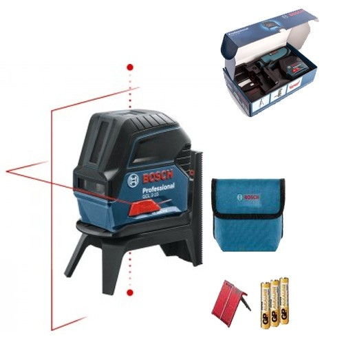 BOSCH GCL2-15 Cross Line Laser With BM1 Mount