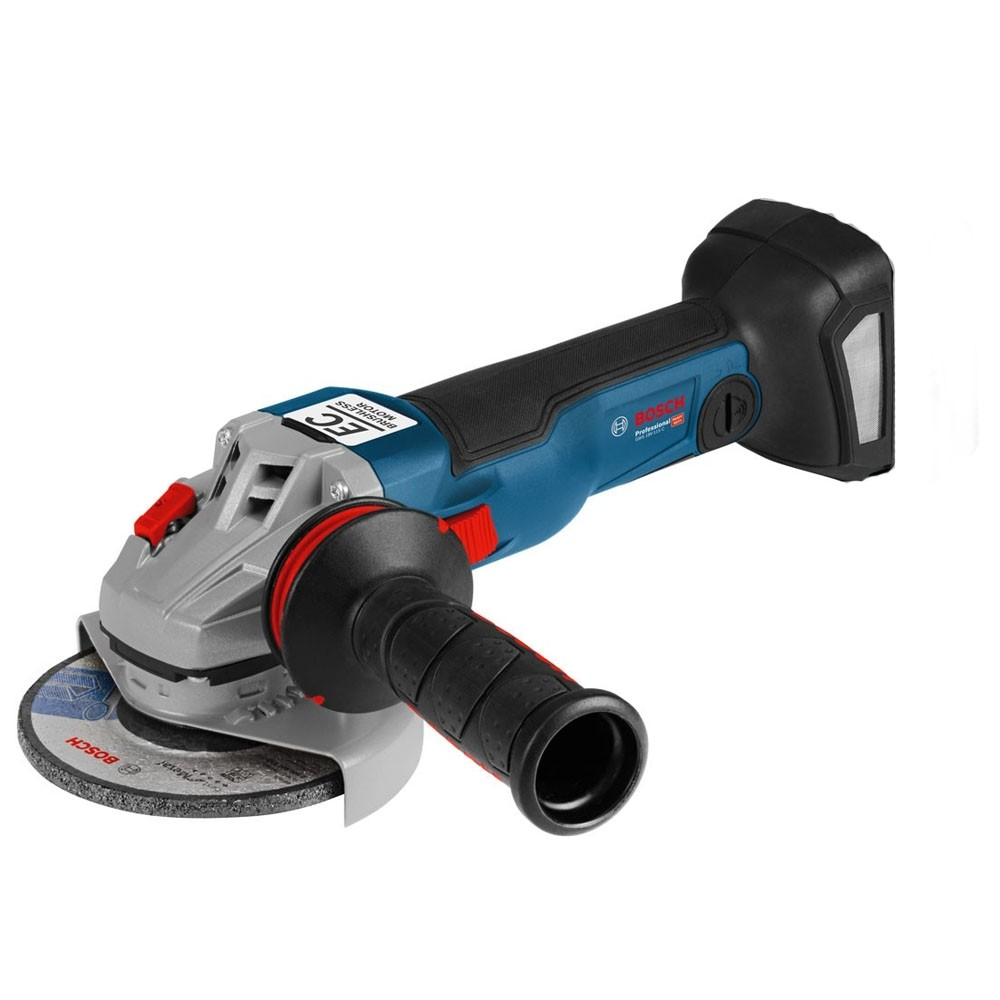 Bosch GWS18V-10C ProCore Set 2x4.0Ah Batteries 18v 115mm 18v Cordless Grinder