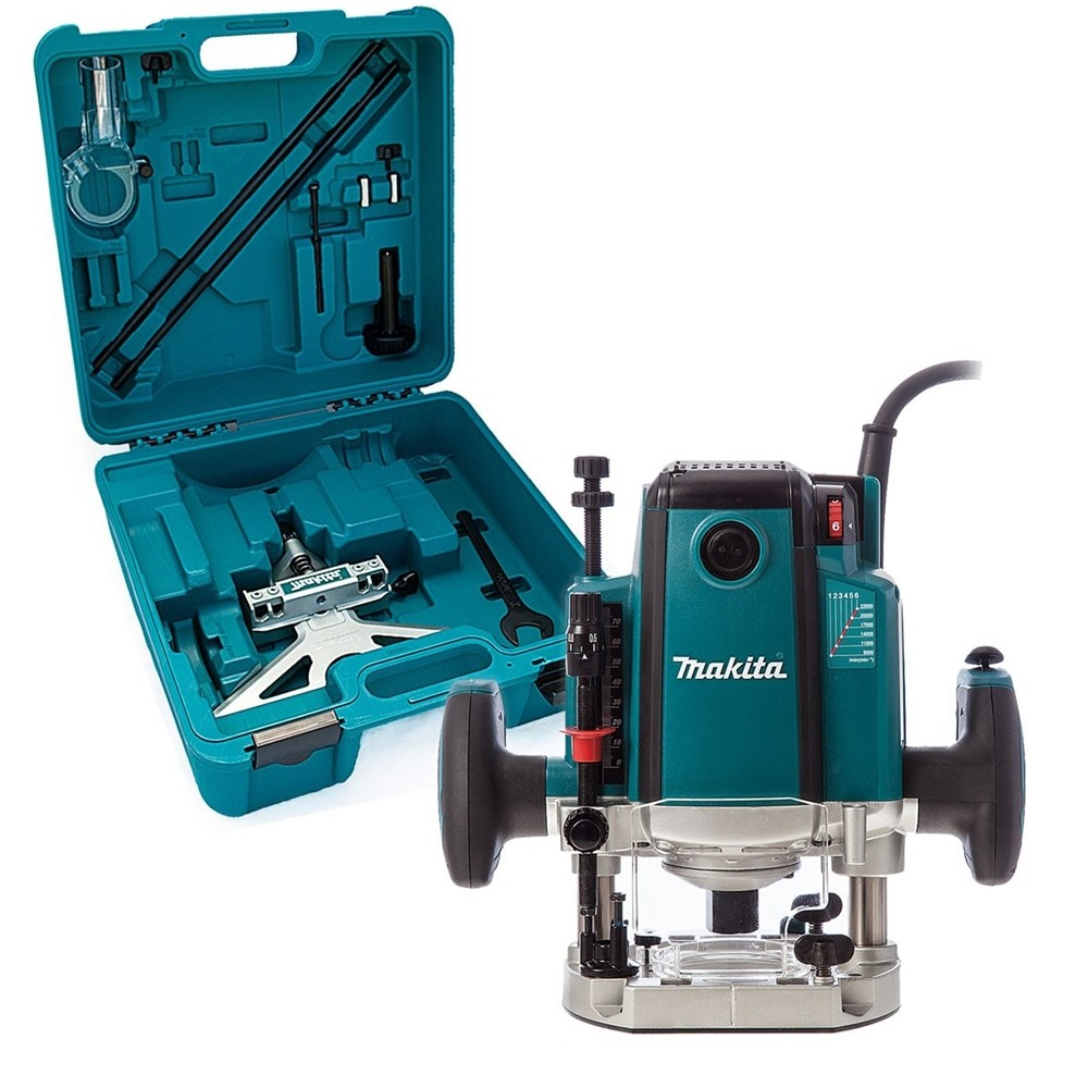 Makita RP2301FCXK 240v 1/2in Variable Speed Plunge Router with Case