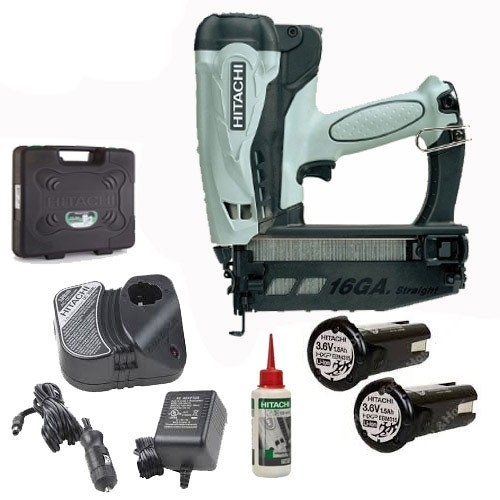 Hitachi NT65GS 2nd Fix Straight Gas Nail Gun