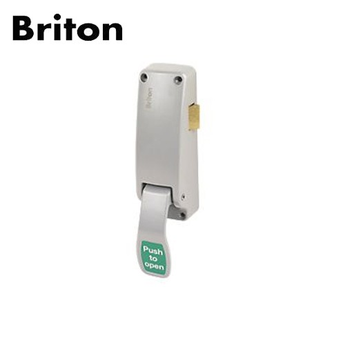 Briton 1438.R.SE Reversible Push Pad Rim Latch
