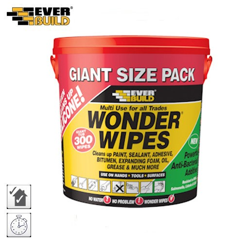 Everbuild Multi-Use Wonder Wipes GIANTWIPE 300 Wipes