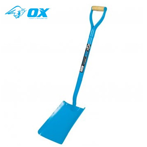 Ox Tools T280701 Trade Solid Forged Square Mouth Shovel