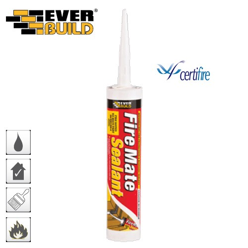 Fire Mate White or Brown Sealant