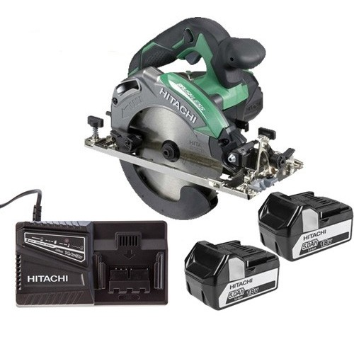 Hitachi Circular Saw 5.0ah Kit