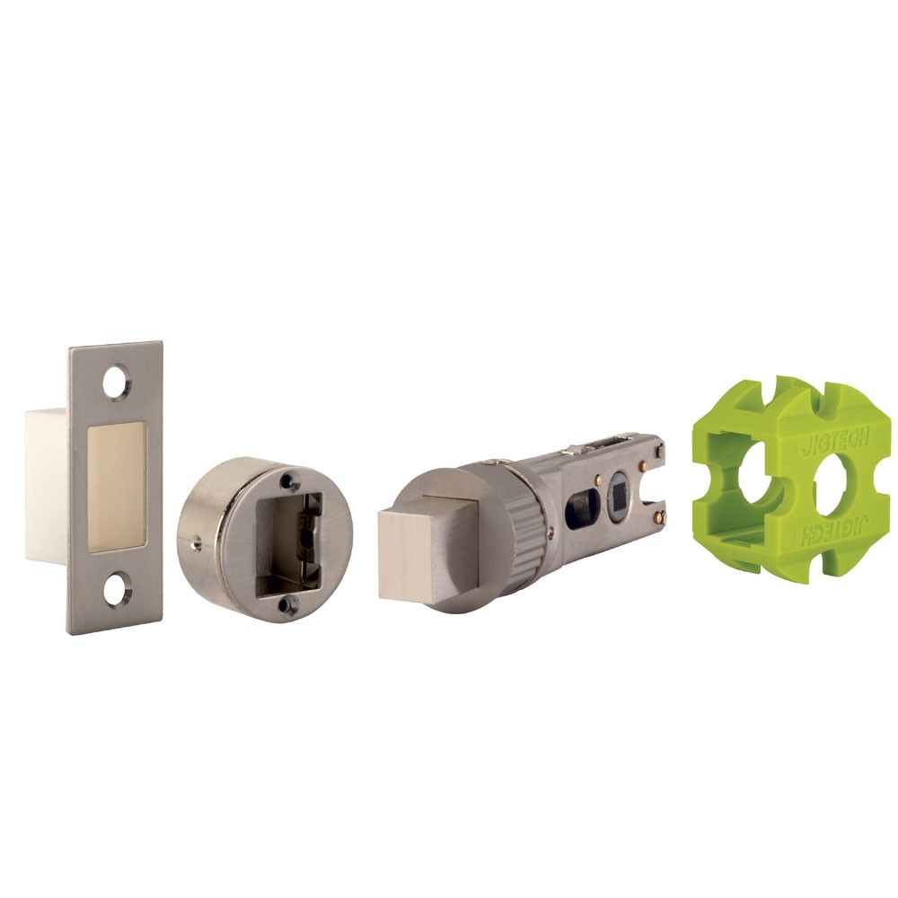 Jigtech Smart Bathroom Bolt  Satin Nickel Plated JT4223