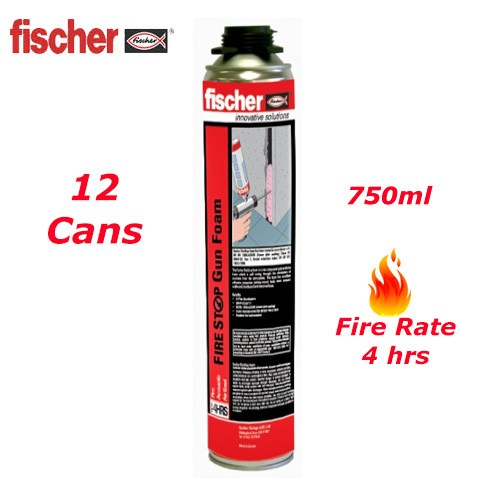 Fischer B1 Firestop Gunfoam Pink 750ml 43712