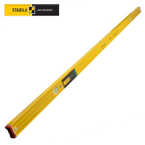 Stabila Heavy Duty Ribbed Level STB 96-2-244 3 VIALS 96in