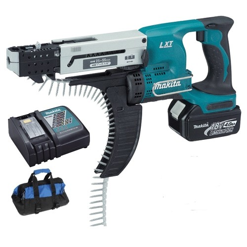 Makita DFR550RF 18v Collated Screw Gun