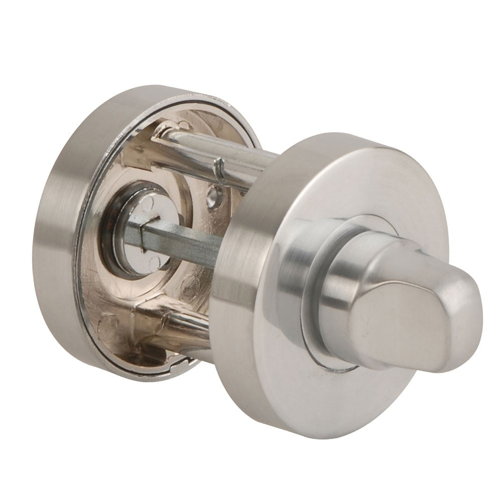 Jigtech Turn & Release Round Rose Satin Chrome Polished JTA5501