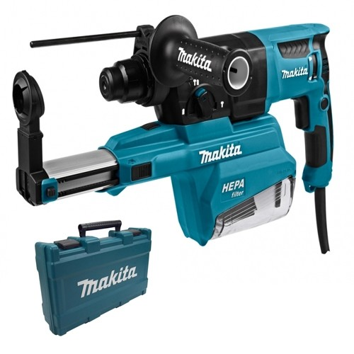Mkaita HR2650 110v SDS Plus Drill with Dust Collection System