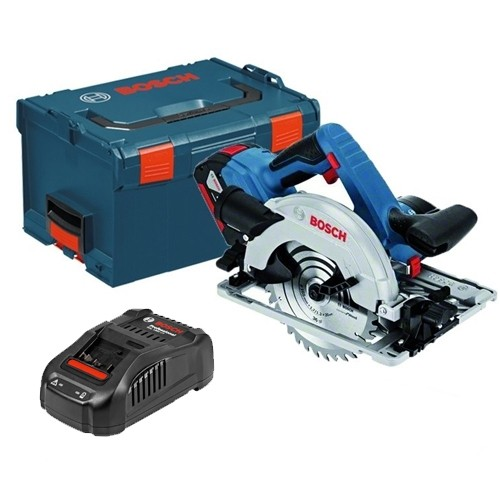 Bosch GKS18V57G Kit 18V Circular Saw L-BOXX with 1x5.0Ah Batteries