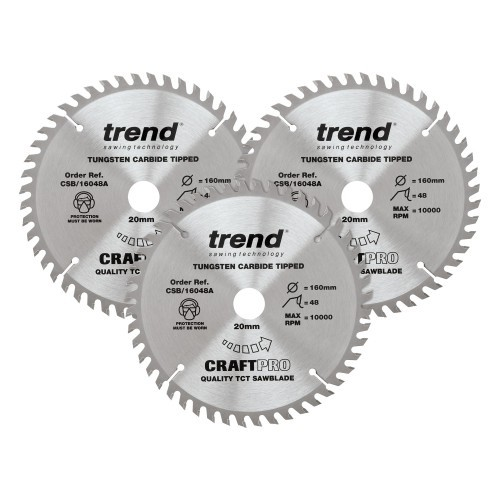 Craft saw blade triple pack Deals