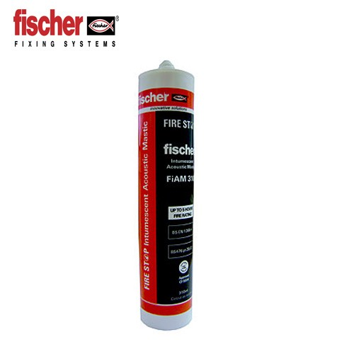 Fischer Intumescent and Acoustic Mastic-FiAM 310ml 53011