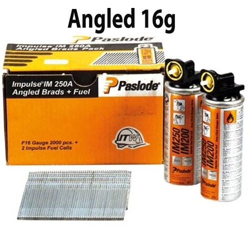 paslode 16 Gauge Angled Brad Nails