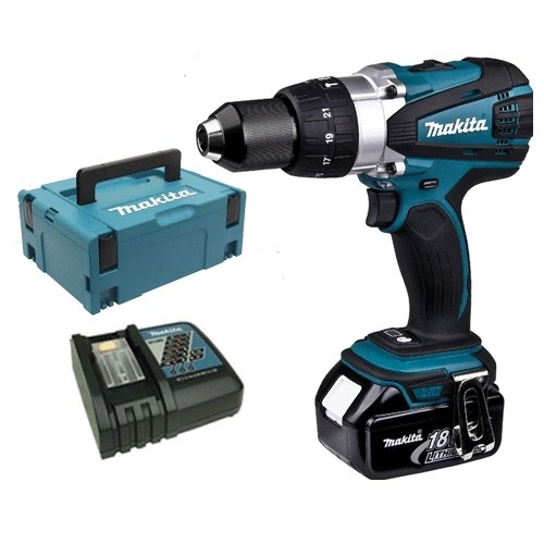 Makita DHP458 With 2 x 5.0Ah Battery
