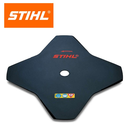 Stihl Metal Brushcutter Blade, 4 Tooth, 230mm 40007133801