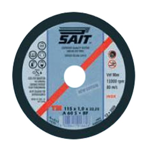 SAIT CUTTING DISC FOR METAL 350 X 2,5 X 25,4mm A60P