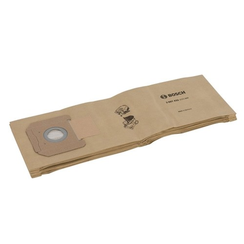Bosch 2607432035 5 x Paper bag for the Gas 35 Dust Extractor