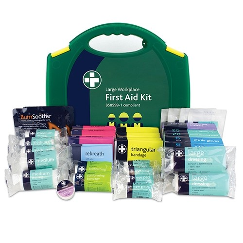 Workplace Fist Aid Kit for large workplaces, this kit caters for 100 employees