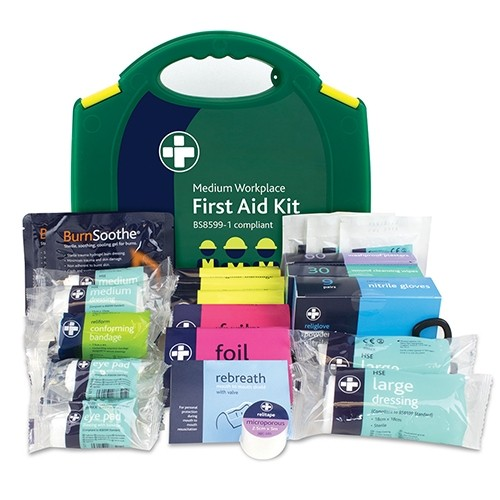 Fist Aid Kit for small workplaces with 25 to 100 employees