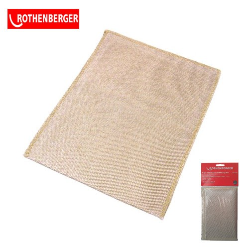 Rothenberger 67022 plumbers soldering mat 10 x 10""