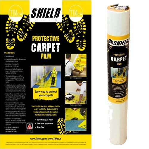 Carpet protective shield  film 50m x 0.6 50CP