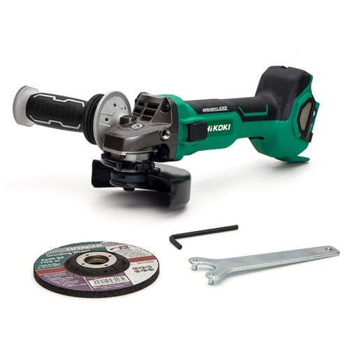 HiKOKI G3612DA/18/36V 115mm Brushless Angle Grinder