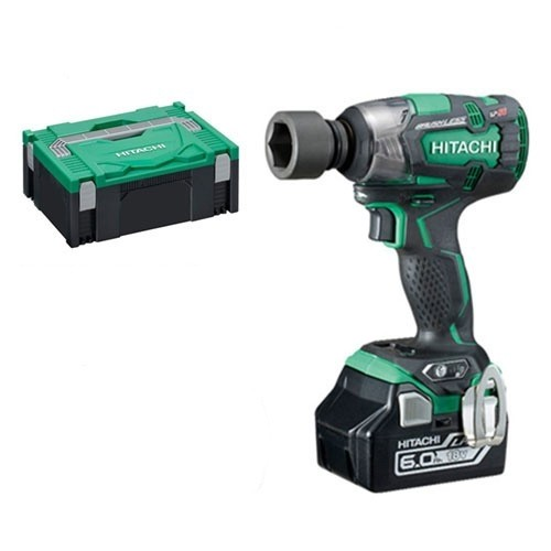 Hitachi WR18DBDL2/JX 18V Brushless Impact Wrench 1 x 6.0Ah