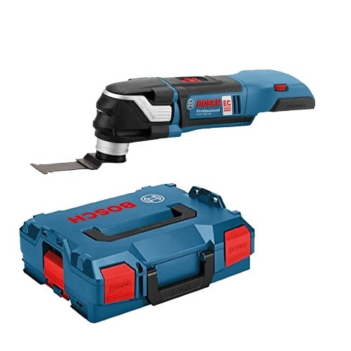 Bosch GOP 18V-28 + MB Cordless 18v StarlockPlus Multi-Cutter Body Only With L-Boxx