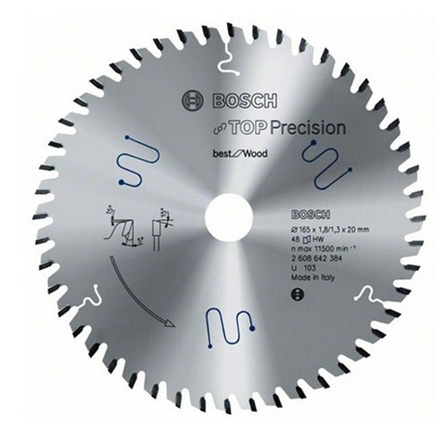 Bosch 2608642384 Wood Circular Saw Blade 165mm x 20mm x 48T