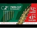 Classic C2 Multi-Purpose Screws - Twin Cut ZYP