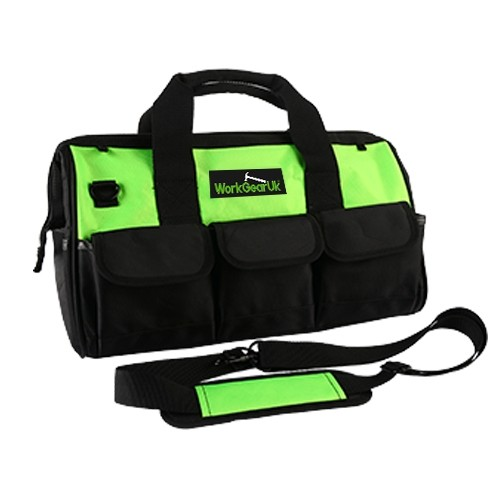 "Work Gear Uk 18"" Tool Bag with a water Resistant Fabric and 24 pockets in Total WG-TX04"