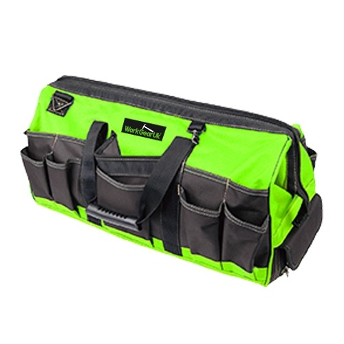 Work Gear Uk 35 Pocket Double Tray Tote Tool Bag WG-TX05