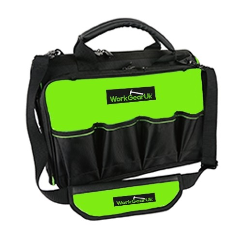 "WorkGearUk 18"" Total Tech Tool Bag Storage Organiser Tools Holder WG-TX06"