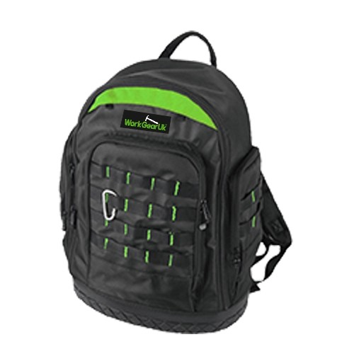 WorkGearUk Extreme Tool Backpack with a water proof base WG-TX11