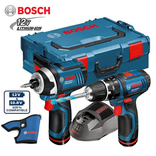 bosch 12v set gsb12v 15 gsb12v 105 set l boxx 2 x 2 0 ah li ion ebay. Black Bedroom Furniture Sets. Home Design Ideas